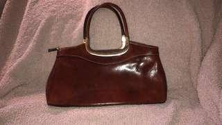 Leather purse from Italy