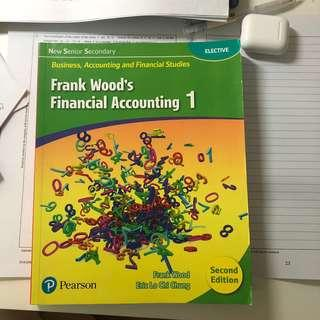 全新BAFS書 FRANK WOOD'S FINANCIAL ACCOUNTING 1 (SECOND EDITION)