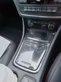 CLA  GLA center compartment carbon fiber protective stickers