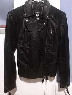 Boohoo Vegan Biker Leather Jacket
