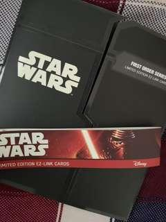 Star wars Limited Ed Ez Link Card