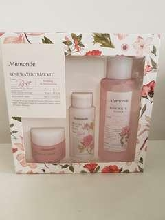 Brand new Mamonde rose water trial set
