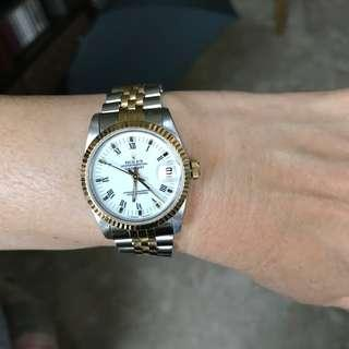 Pre-Owned Rolex Boy size DateJust 31mm 68273