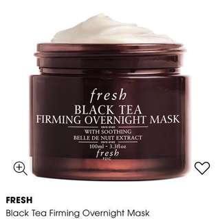 FRESH - Black Tea Overnight Mask (100ml)