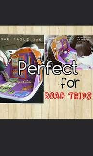 🚚 Kids Activity Car Organiser Table Bag