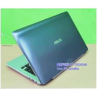 New240SSD Touch screen ASUS TX201LA i5-4200U 4G 12inch laptop ''sendfar second hand'' 聖發二手筆電