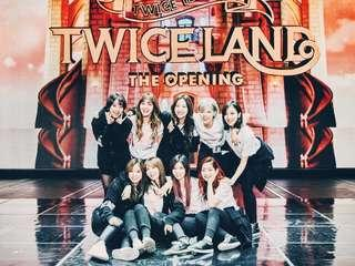 selling official twice photocards/albums etc