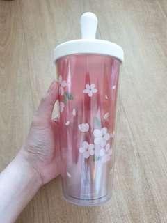 🚚 Cherry Blossom Tumbler