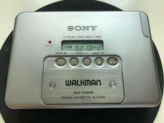 Sony Walkman WM-FX808 made in Japan