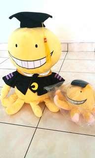Assassination Classroom_ koro sensei soft toys