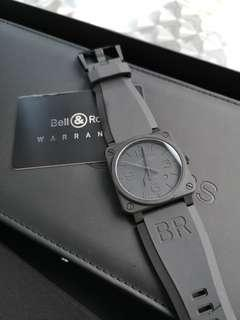 Bell & Ross BR03-92 PHANTOM BLACK CERAMIC 42mm