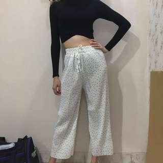 Pleated pants import