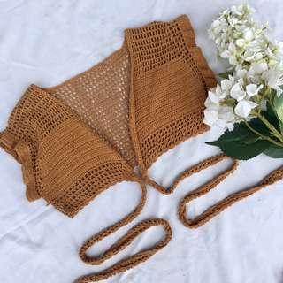 Andi Bagus • Crochet Wrap knit