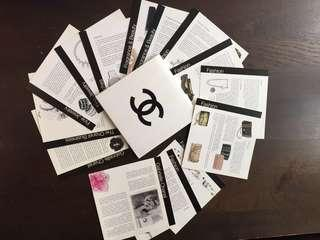 🚚 Set of Chanel cards