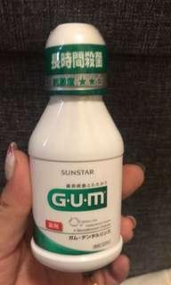 🚚 G.U.M 日本帶回 漱口水 潔齒液 80ml