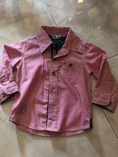 🚚 Red Long sleeved shirt for 18 mth old