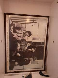 Beatles, Eagles Frames Pictures Art