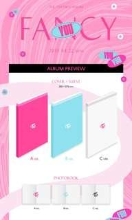 [PO] Twice fancy you official unsealed album