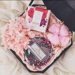 母親節禮盒 voluspa 香薰蠟燭 L'occitane 香皂