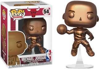 🚚 Funko Pop Michael Jordan Bronze Exclusive Vinyl Figure Collectible Toy Gift NBA Goat