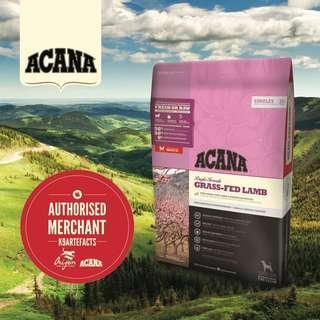 Acana Adult Grass-Fed Lamb with Okanagan Apples 11.4kg