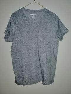 Bluenotes Melange V-neck - Grey