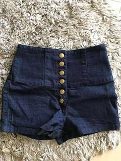 New Look HW Denim Shorts