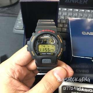G-SHOCK DW-6900B-9 / DW6900 FOX FIRE JAPAN MADE ORIGINAL