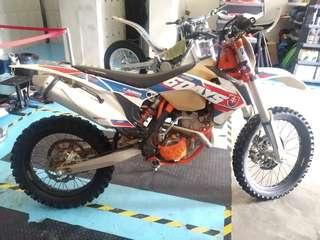 KTM250 EXC-F slovakia off road only