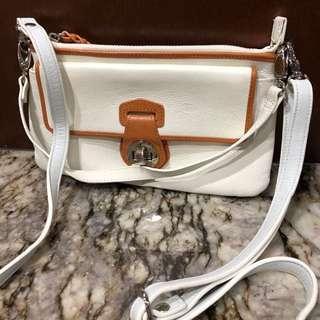 Danier leather shoulder/cross body purse