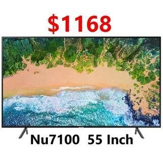 Samsung 55 inch UHD 4k Smart Tv NU7100 7 series