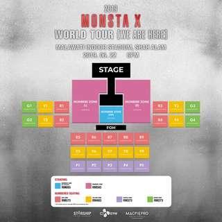 MONSTA X WORLD TOUR IN MALAYSIA TICKETING SERVICE