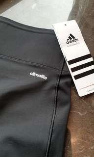 🚚 Adidas Climalite 黑色彈性 長褲