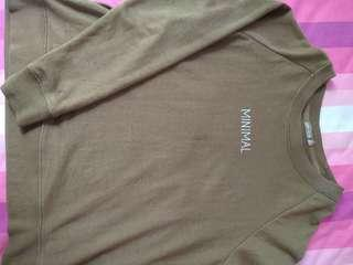 Bershka Sweatshirt Army