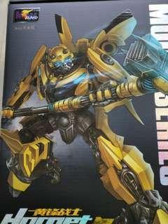 Transformers BumblebeeHornet Warrior (aka Upsized MPM03 MPM-03 Bumblebee)
