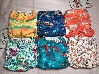 環保布尿布 cloth diaper