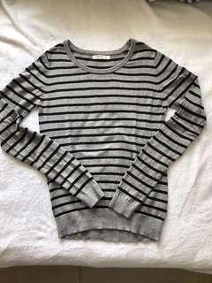 Calliope Striped Knitted Pullover