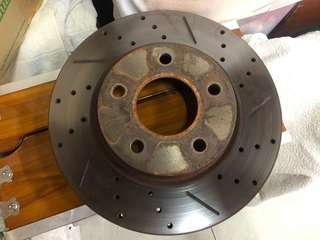 Lancer Inspira 276mm StopTech Brake Rotors