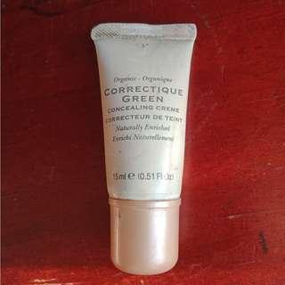 Organic CORRECTIQUE GREEN Underwear Concealer (CORRECTOR for Acne/ Blemish Prone Skin)