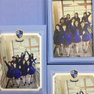 WTB LF FROMIS FROMIS_9 TO. HEART ALBUM BLUE VER
