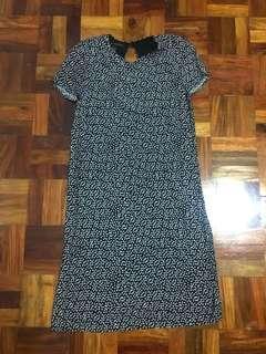 Mango floral shift dress
