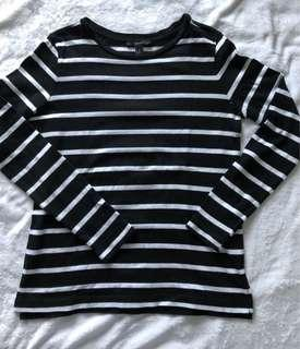 Forever 21 Knitted Striped Pullover