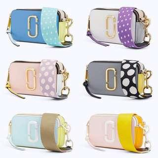 Marc Jacob snapshot bag polka dot
