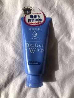 Perfect whip senka face cleanser