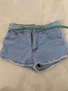 HW Denim Shorts