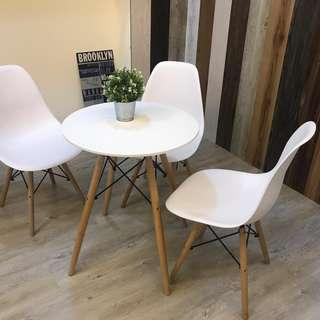 3x 60cm round table
