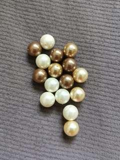 🚚 10mm Shell Pearl beads