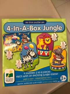 The Learning Journey Puzzle Jungle