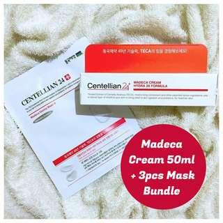 Madeca Derma Cream and Masks Bundle!