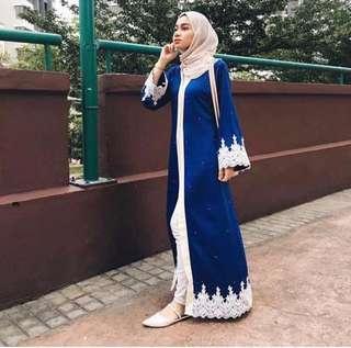 Open Front Abaya